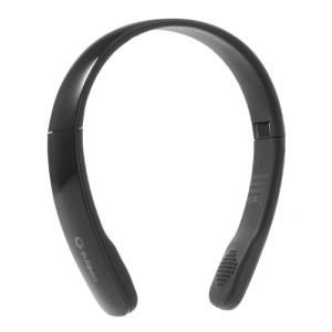 Suicen AX-671 Bluetooth V4.0 Stereo On-ear Headphone w/ Microphone - Black