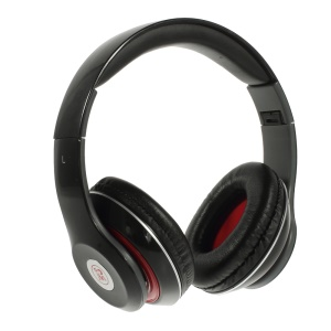 Black Langston IM-M801 Extra Bass Stereo Headphone with Mic for iPhone Samsung HTC LG Sony etc