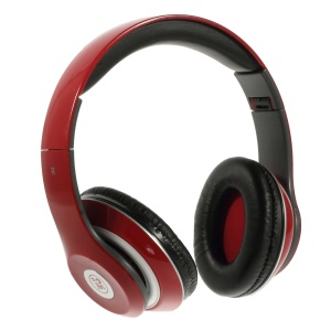 Red Langston IM-M801 Extra Bass Stereo Headset with Mic for iPhone Samsung HTC LG Sony etc