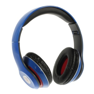 Blue Langston IM-M801 Extra Bass Stereo Headset with Mic for iPhone Samsung HTC LG Sony etc