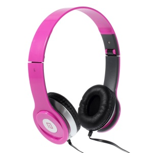 Rose Langston IM-6 Super Bass Foldable Over-ear Headphone with Mic for iPhone iPad Samsung HTC LG Huawei Xiaomi etc