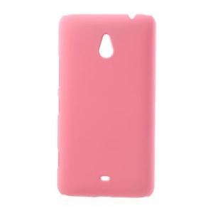 For Nokia Lumia 1320 RM-994 RM-995 RM-996 Rubber Coating Hard Phone Shell - Pink