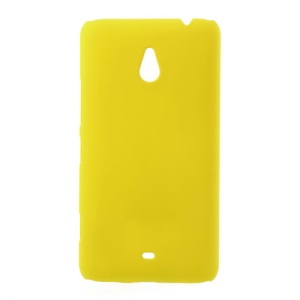 For Nokia Lumia 1320 RM-994 RM-995 RM-996 Rubber Coating Hard Shield Case - Yellow