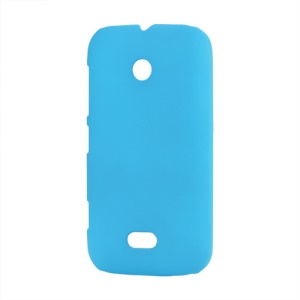 Rubberized Matte Hard Case for Nokia Lumia 510 - Light Blue