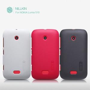 Nillkin Super Matte Protective Hard Case Cover for Nokia Lumia 510 + LCD Screen Film
