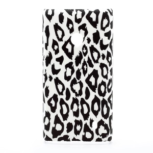 Stylish Leopard Hard Plastic Case Cover for Nokia Lumia 520