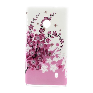 Peach Blossom Hard Case Shell for Nokia Lumia 520