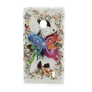 Vivid Butterfly Nokia Lumia 520 Hard Plastic Case