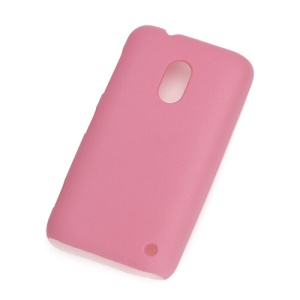 Rubberized Frosted Hard Case Cover for Nokia Lumia 620 - Pink