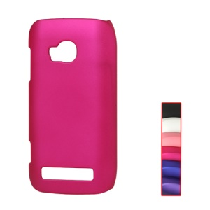 Rubberized Matte Hard Case for Nokia Lumia 710 T-Mobile Sabre;Red