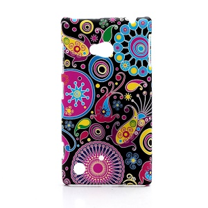 Mixed Patterns Painting Plastic Case Shell for Nokia Lumia 720