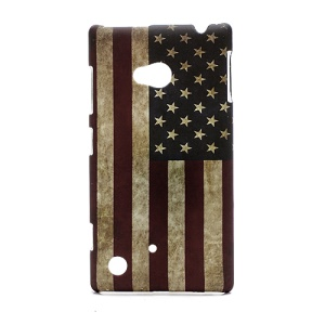 Retro Flag of United States Hard Case for Nokia Lumia 720