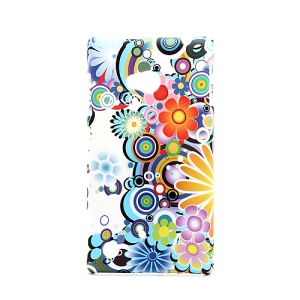 Gorgeous Flowers Protective Case Cover for Nokia Lumia 720