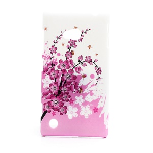 Plum Blossom Hard Case Shell for Nokia Lumia 720