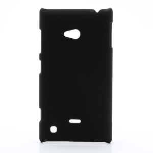 Rubberized Hard Case Cover Accessories for Nokia Lumia 720 - Black