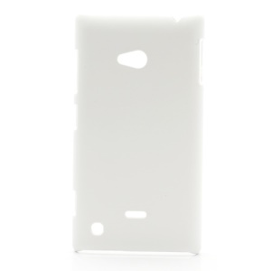 Rubberized Hard Case Cover Accessories for Nokia Lumia 720 - White