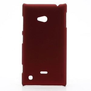Rubberized Hard Case Cover Accessories for Nokia Lumia 720 - Red