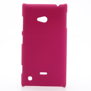 Rubberized Hard Case Cover Accessories for Nokia Lumia 720 - Rose