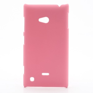 Rubberized Hard Case Cover Accessories for Nokia Lumia 720 - Pink