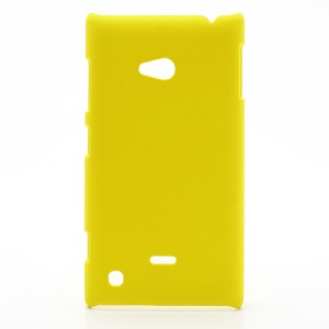 Rubberized Hard Case Cover Accessories for Nokia Lumia 720 - Yellow
