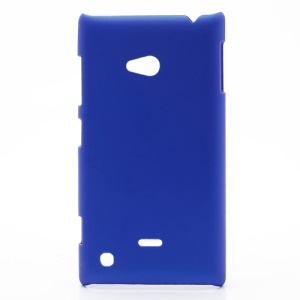 Rubberized Hard Case Cover Accessories for Nokia Lumia 720 - Dark Blue