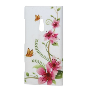 Nokia Lumia 800 Sea Ray Blossom Flower Hard Case Cover
