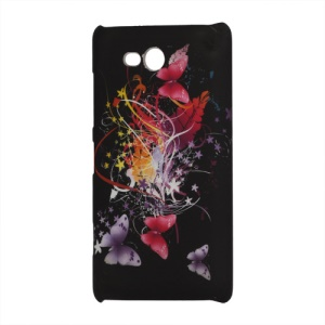 Colorful Butterflies Hard Cover Case for Nokia Lumia 820