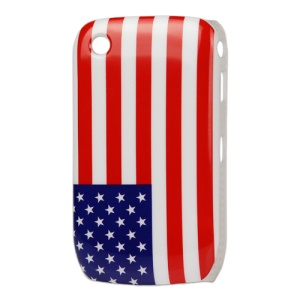 American Flag Hard Case for BlackBerry Curve 8520 8530 9300 9330