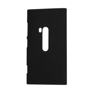Rubberized Protective Hard Case Cover for Nokia Lumia 920 - Black