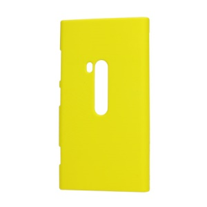 Rubberized Protective Hard Case Cover for Nokia Lumia 920 - Yellow