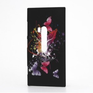 Beautiful Butterflies and Flowers Hard Case for Nokia Lumia 920