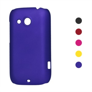 Rubberized Hard Plastic Case for HTC Desire C A320e