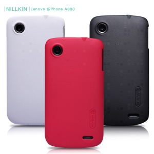 Nillkin Forsted Shield Hard Protective Case with LCD Film for Lenovo IdeaPhone A800