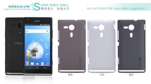 Nillkin Super Frosted Shield Hard Case w/ Screen Film for Sony Xperia SP C5303 M35h