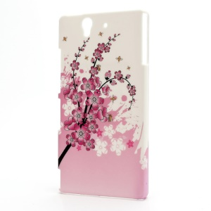 Plum Blossom Hard Case Shell for Sony Xperia Z L36h L36i C6603 Yuga