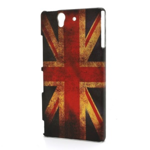 Retro Union Jack UK Flag Hard Case for Sony Xperia Z C6603 L36h Yuga