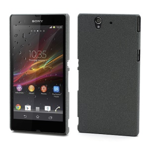 Ultra Slim QuickSand Plastic Case Cover for Sony Xperia Z C6603 L36h Yuga - Grey