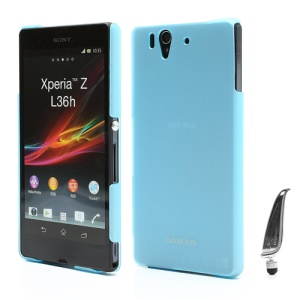 Baseus Exquisite Silky Series Hard Case for Sony Xperia Z C6603 L36h Yuga - Blue