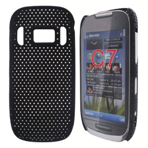 Nokia C7 Perforated Plastic Hard Case Cover