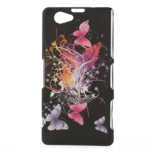 Vivid Butterflies Hard Back Case for Sony Xperia Z1 Compact D5503