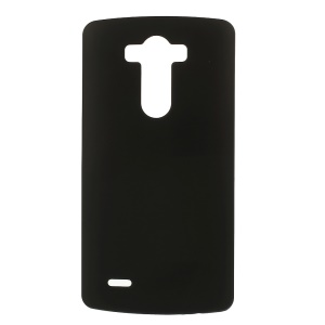 Rubber Coating Plastic Hard Case for LG G3 D850 LS990 - Black
