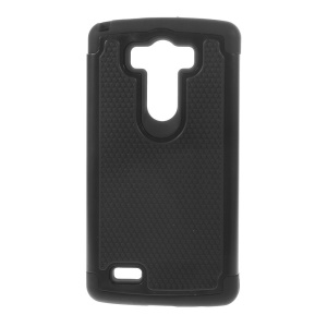 Football Grain PC + Silicone Combo Case for LG G3 D850 D855 LS990 - Black