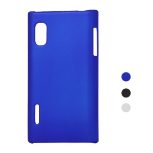 Rubberized Plastic Hard Case for LG Optimus L5 E610