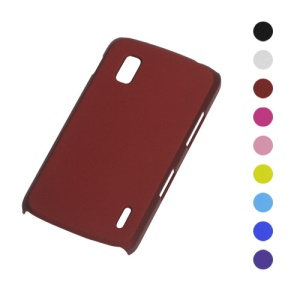 Rubberized Frosted Hard Back Case for LG E960 Mako Google Nexus 4