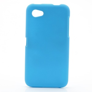 Rubberized Coating Protective Hard Case Shell for HTC First - Baby Blue