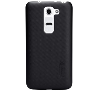 Nillkin Super Frosted Shield Hard Case for LG G2 Mini D620 D618 w/ Screen Protector - Black
