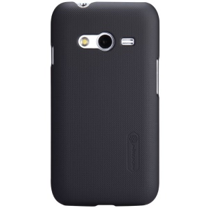 Nillkin Super Frosted Shield Hard Case for Samsung Galaxy Ace NXT SM-G313H w/ Screen Protector - Black