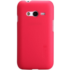 Nillkin Super Frosted Shield Hard Cover for Samsung Galaxy Ace NXT G310H w/ Screen Protector - Red