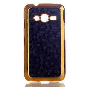 Black Football Grain Leather Coated Hard Case for Samsung Galaxy Ace NXT SM-G313H