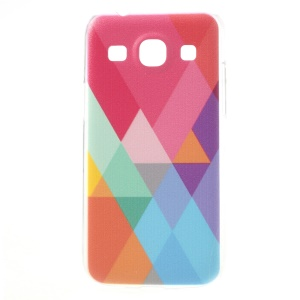 Colorized Geometric Pattern Hard Case for Samsung Galaxy Core Plus G3500 / Trend 3 G3502